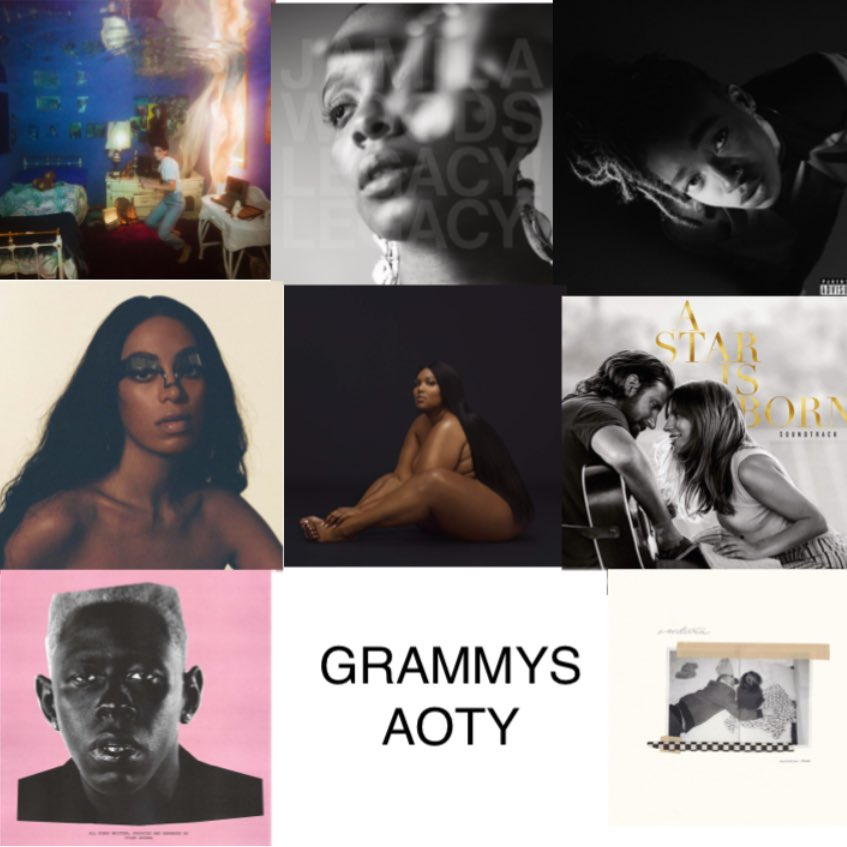 How the Grammys 2020 AOTY should look like vs What it will probably look like <br>http://pic.twitter.com/9j24WN8WJa