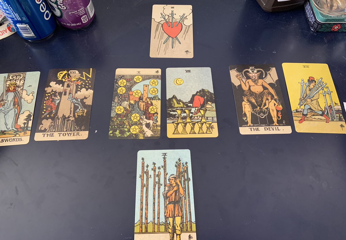 My clarity spread today both read me and supported me