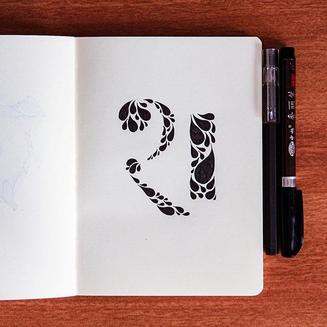 #श in #47daysofdevanagaritype  @devanshutak Made a shiny version of this. . #art #47days #handtypography #typography #inkart #handlettering #letterart #hindi #devanagari #typeinspire #goodtype #moderncalligraphy #lettering #typer #typedesign #ink #instac…