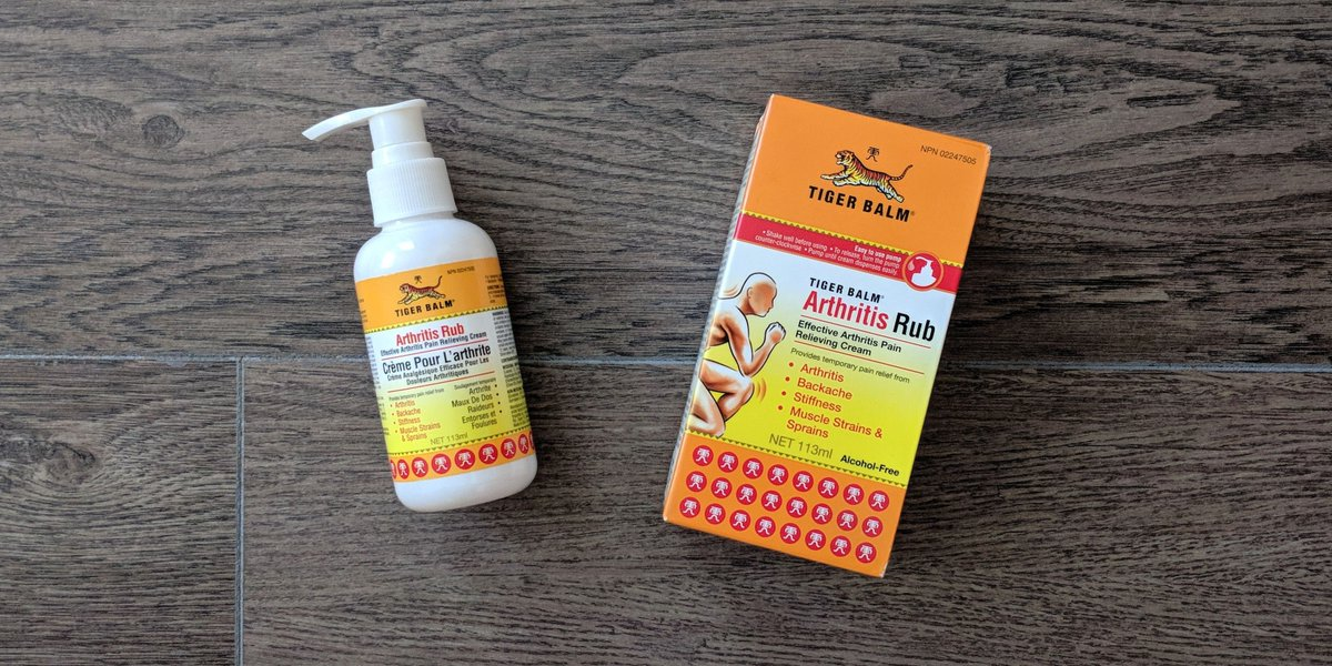ENTER TO WIN!  RETWEET & FOLLOW @TigerBalmCanada for a chance to win Tiger Balm Arthritis Rub - safe, fast relief from #arthritis joint pain!   1 winner. 1 entry per day. CA only. Enter by 9/20.  #ArthritisAwarenessMonth #TigerBalmArthritisRub #GiveawayAlert  <br>http://pic.twitter.com/EwcpYhXMOm