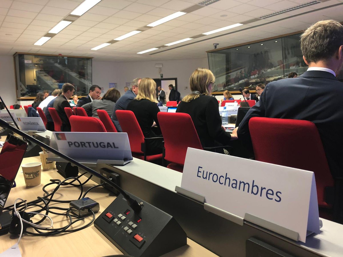 A productive meeting today at the @EU_Commission with the European network of #SMEEnvoys. Business organizations and national Envoys have reiterated the need for an actionable #SMEstrategy that develops horizontal SME policies, focusing on sustainability and digitalization.pic.twitter.com/ZVMC1xIc2g