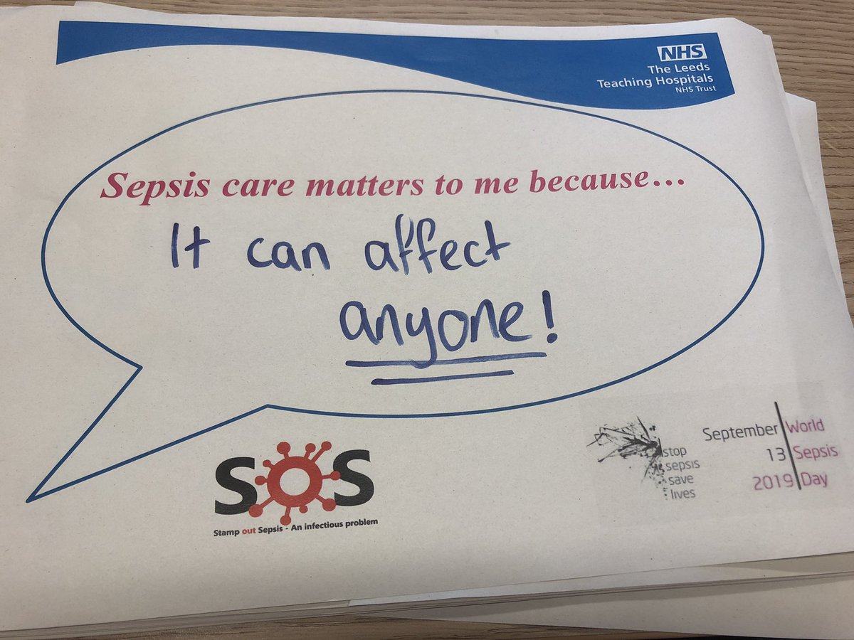 Great engagement today from staff across @LeedsHospitals for @WorldSepsisDay completing a sepsis quiz & making a sepsis pledge! Good work all 👍 #stampoutsepsis @IpcLtht @rich1cath @AbbyBoden8 @LthtQuality @CraigBrigg @StuartNuttall1 @LTHTCorpNurse