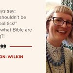 Image for the Tweet beginning: Rose Hudson-Wilkin believes faith should