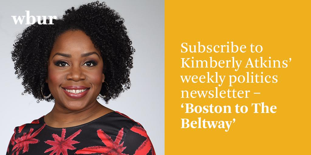 Do you love listening to Kimberly Atkins on-air at WBUR? You can now hear from her each week in your inbox. Subscribe to Kimberly Atkins' weekly politics newsletter here: https://wbur.fm/2M4GNO9