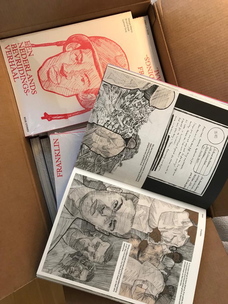 De boeken zijn er! Kom op 16 september een gesigneerd exemplaar halen in @Nooit1Verhaal vrijheidsmuseum Groesbeek. #75jaarvrijheid #lovingday