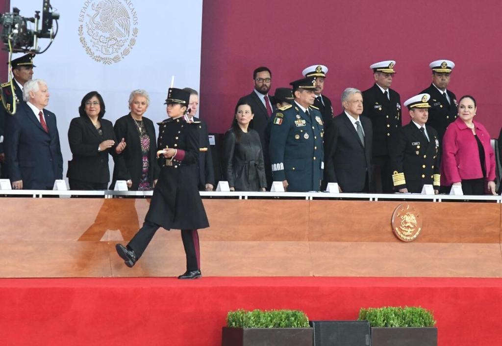 Acompañé al presidente de #México @lopezobrador_  en la conmemoración del 172 aniversario de la Gesta Heroica de los Niños Héroes de Chapultepec.🇲🇽