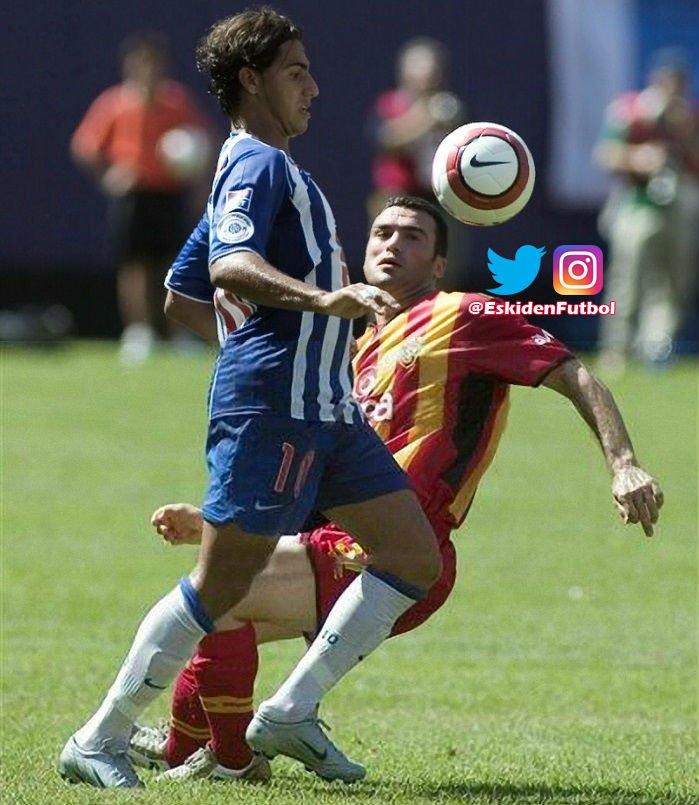 🗓️ 01.08.2004 🏟️ Giants - New Jersey 🇺🇸 🏆 Champions World Series 🛑 Porto 1-2 Galatasaray 📸 Ricardo Quaresma & Hakan Ünsal