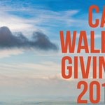 Image for the Tweet beginning: Charitable giving in Wales…all the