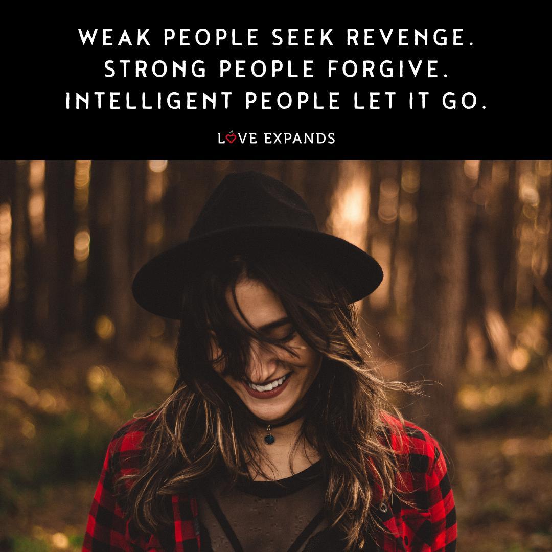 Seek revenge people why Why do