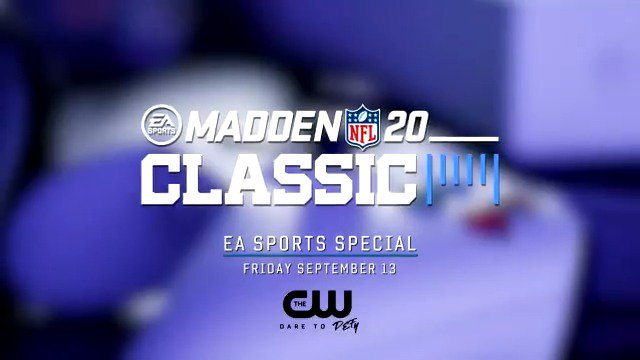 Catch the #MaddenClassic tonight on @TheCW at 8PM ET! Drop your gamer tag below if youre looking for a challenge 👇