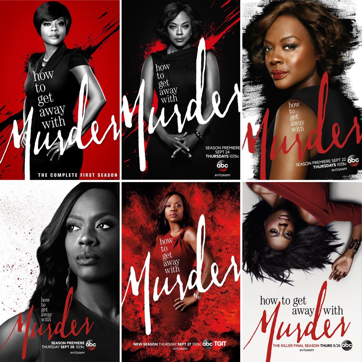 htgawm on twitter htgawm official posters for season 1 6 tgit sept26 violadavis tgit sept26 violadavis