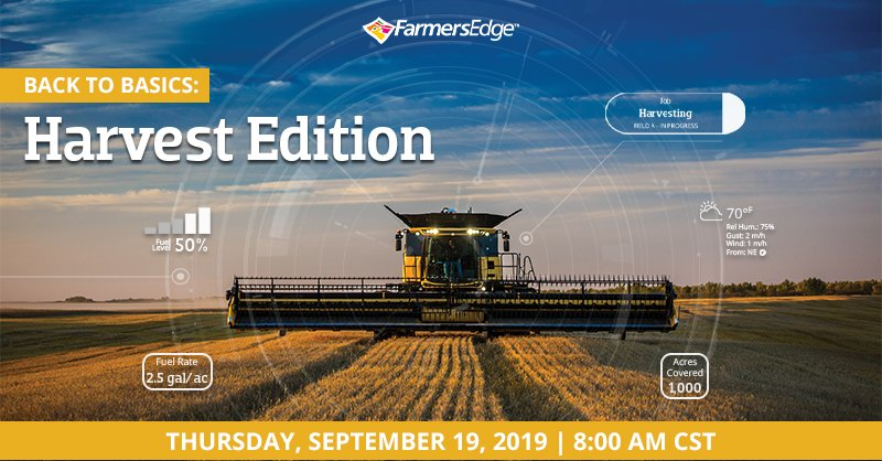 Do you know which digital tool you should be using during harvest or post-harvest to review your season?    Join our next Customer Webinar for a quick tutorial. Check your email for registration link or contact your local rep.  <br>http://pic.twitter.com/eeZj53S8IJ