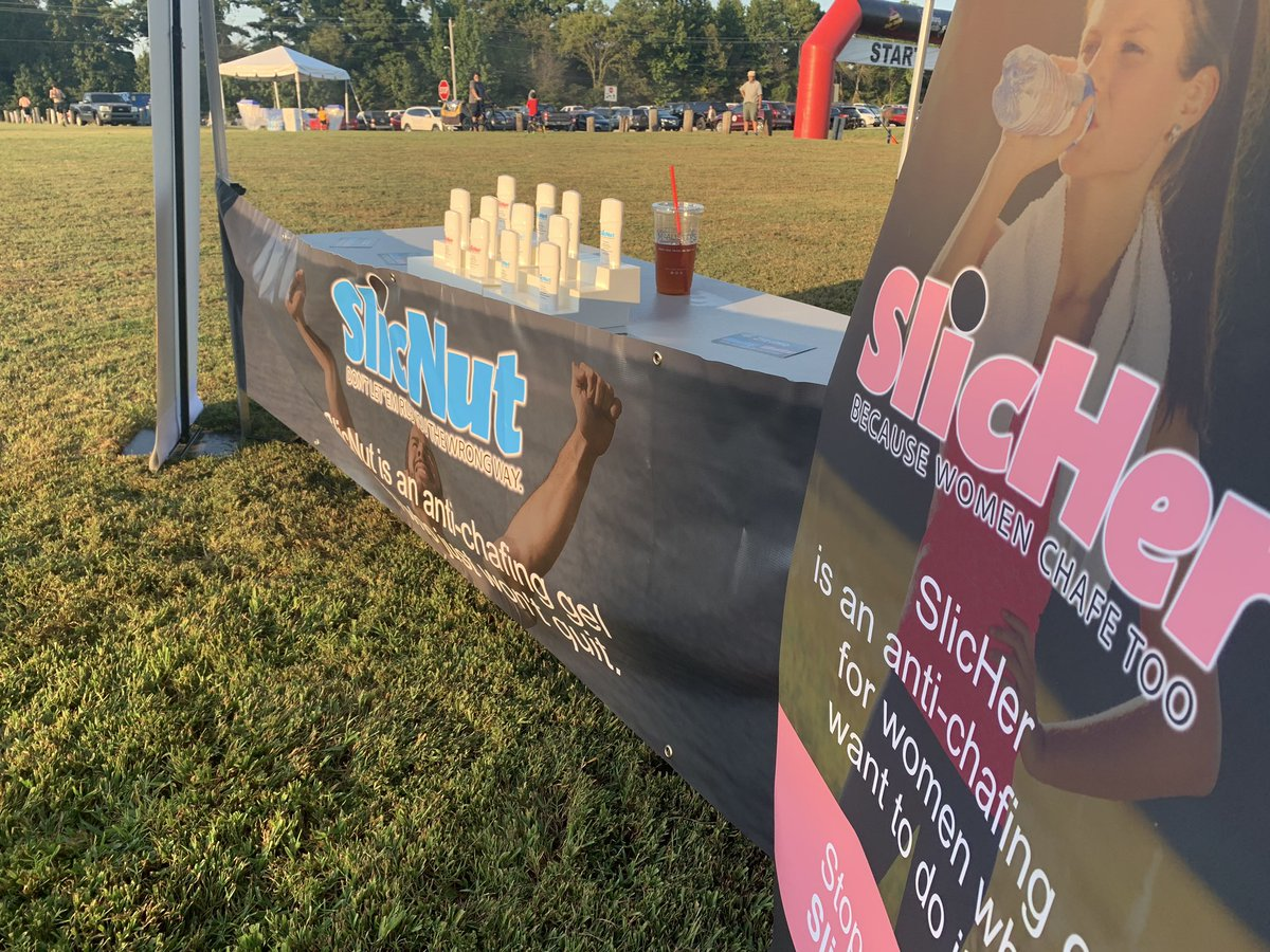 We loved being a sponsor of the 9/11 Heroes Run!! So much fun!    SlicNut is an anti-chafing gel  for men who just won't quit.  #nochafe #nochafing #chafe #chafing #men #fight #train #run #lift #sweat #push #grind #grit #bike #triathlon #marathon #5k <br>http://pic.twitter.com/kWOuGERzUX
