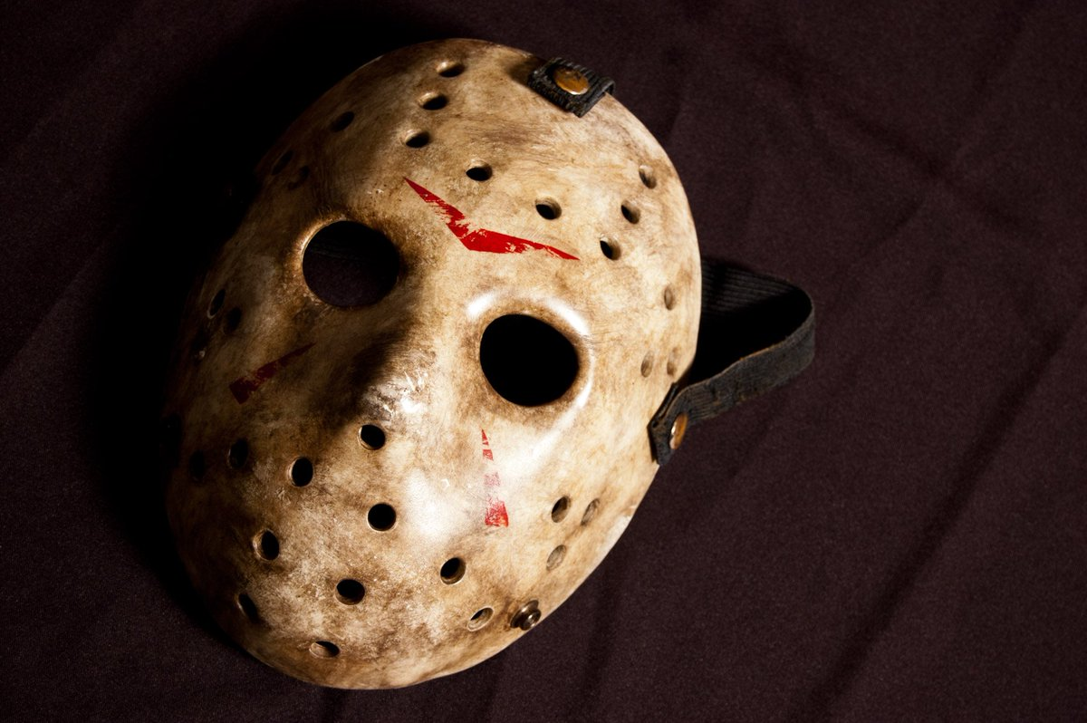 Fill in the blank: Jason Voorhees mask and Friday the 13th go together like... #fridaythe13th