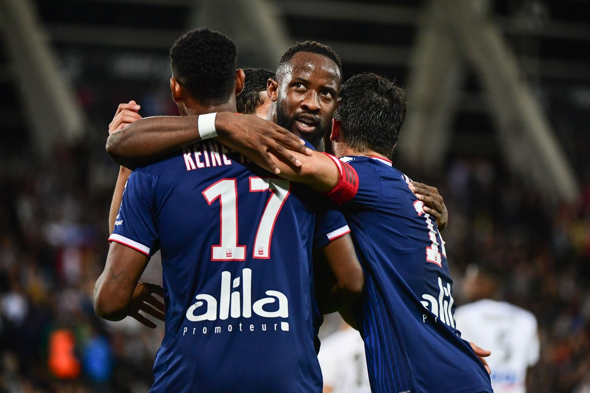 Five goals in four Ligue 1 games for Moussa Dembélé this season. Lyons key player in the #UCL?