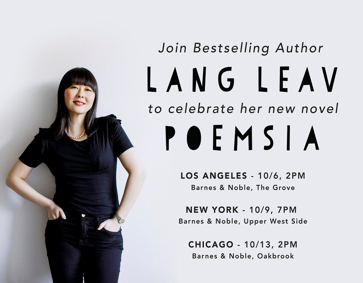 Catch @langleavon tour for her new novel! #Poemsia