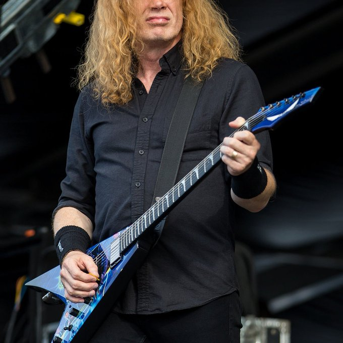 Happy Birthday Metal legend and Megadeth giant Dave Mustaine