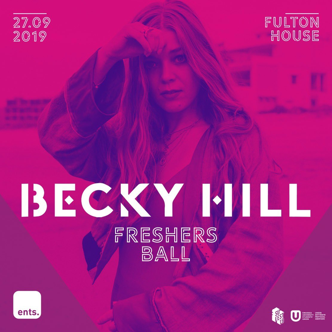 We are UNBELIEVABLY excited to announce that joining us for Freshers Ball this year will be @BeckyHill   With the SONG of the SUMMER, you guys are in for a serious treat https://t.co/PGyd7u6e1R