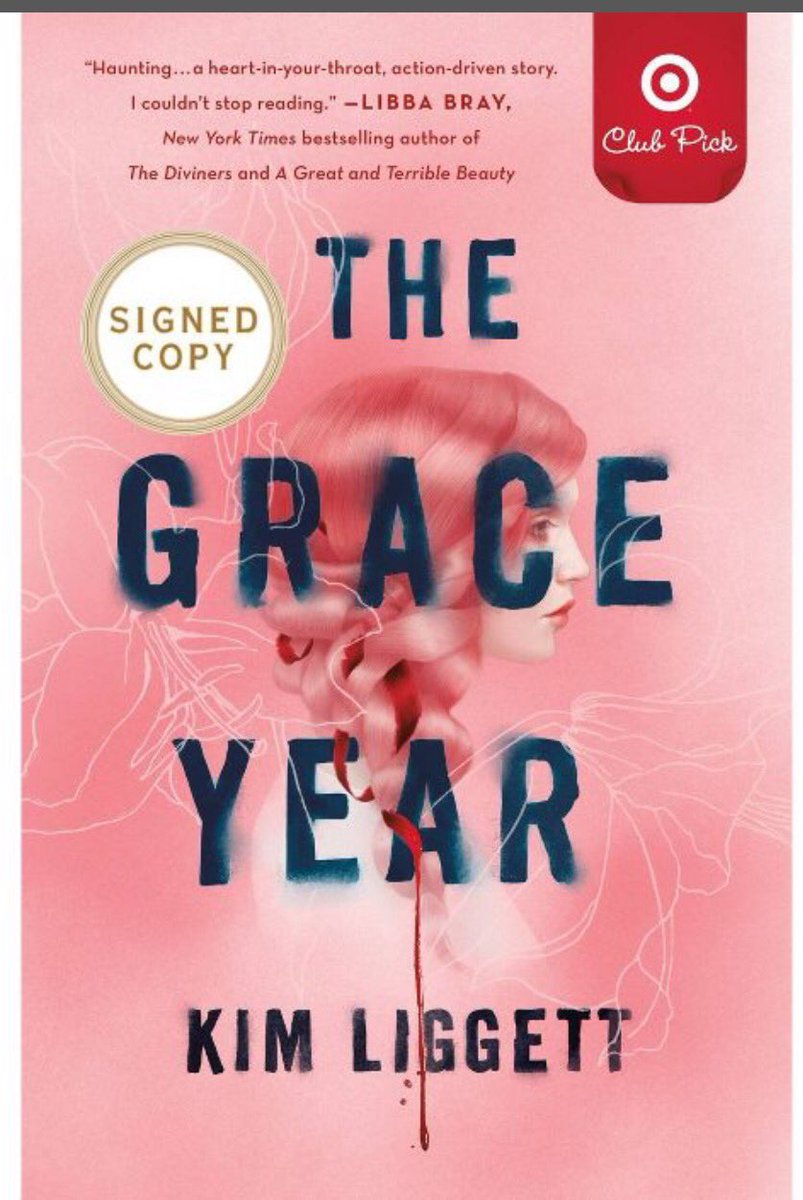 Exciting news! THE GRACE YEAR is the @Target Book Club Pick for the month of October! This special hardcover edition includes an author letter, annotated chapter + book club discussion guide. Bonus: There are a limited number of signed copies, so be sure to pick one up ASAP🌺