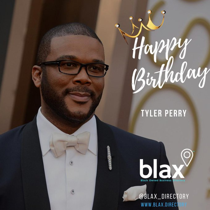Happy Birthday to Mr. Tyler Perry! Thank You for Helping US DREAM AGAIN!