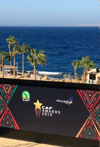 Today I was😀to attend the Signing Ceremony of #PICKALBATROS as the Official Event Partner of @CAF_Online's #CAFAWARDS2019 @ #Hurghada, on the shores of 🇪🇬s Red 🌊.