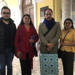 Image for the Tweet beginning: Hoy nos visitó el PhD.