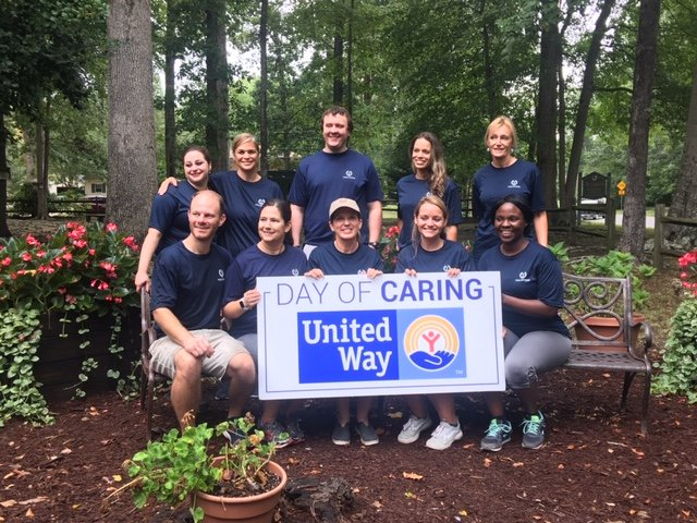 Thank you to @TowneBanking for volunteering at our GirlsShelter for Day of Caring! We appreciate all of your hard work ❤️ @UnitedWay @SHRSUnitedWay