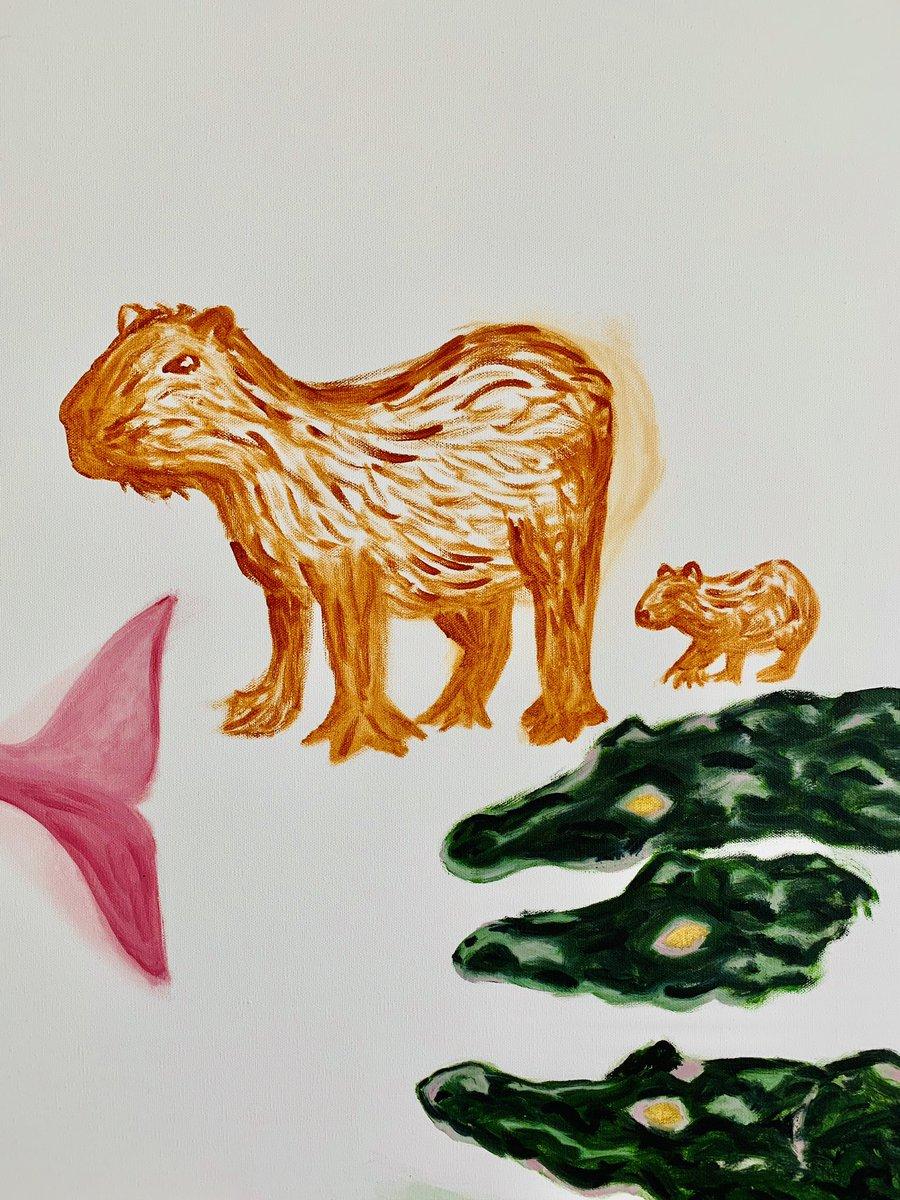 Bringing Animals to Life with Paint🎨#needmorewildlife #artist #amazonrainforest #animallover #ilovetheenviornment #painting #prayforamazonia #amazon #amazonia #amazonrainforestfire #sosamazonia