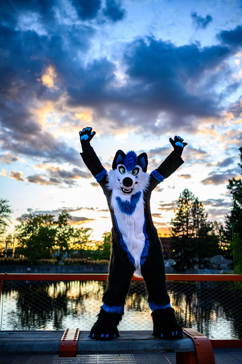 Remember to enjoy your journey! We only get one life so make sure you make the best of it every day!  #FursuitFriday #furry #Spokanthro2019 @furrysuka @NabePup<br>http://pic.twitter.com/GBtIit8rvt