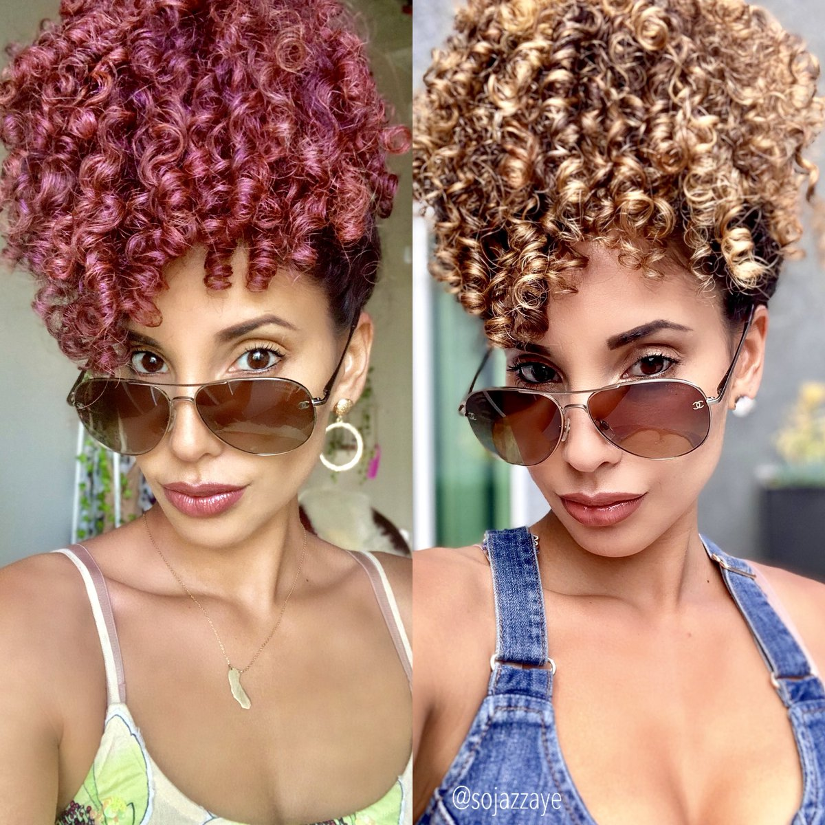 Sojazzaye On Twitter How Do You Like Your Pineapples Rose Or Gold Hairpaintwax