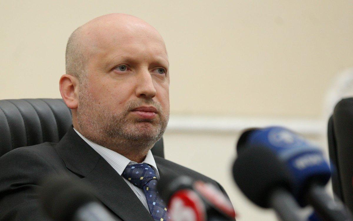 Турчинов рассказал, почему Украина не объявляет войну России