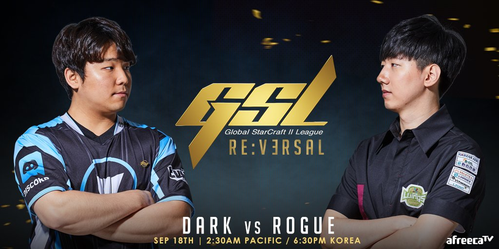2019 GSL Code S 3. Szezon Elődöntő: Dark vs Rogue
