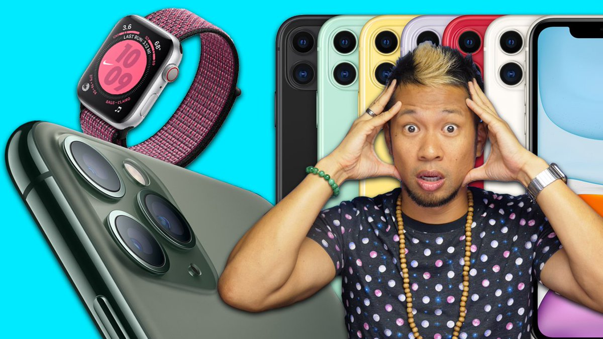 ICYMI...New Apple Bitz Video Drops this week! Reactions to the iPhone 11 Pro/Apple Watch Series 5/AppleTV+ Event youtu.be/3IQmjsiduJk All the iPhone 11/11 Pro features Apple didn't tell you about youtu.be/c95L3cGBclE #iPhone11Pro #iPhone11ProMax #AppleEvent