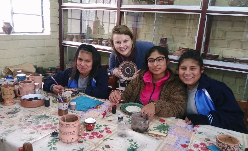 Volunteer Lilian B. in Cusco Peru 🇵🇪 orphanage program.  I've always loved being around children and what better way to absorb other cultures than to immerse myself into a new place! https://www.abroaderview.org/volunteers/peru #volunteerabroad #volunteer #gapyear #perucusco
