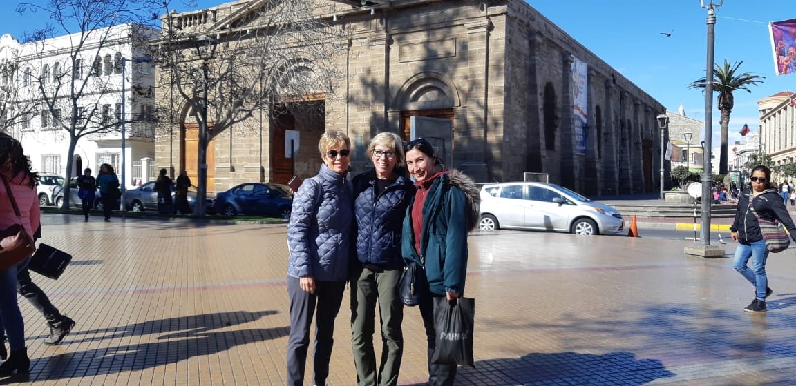 "Volunteers Shelagh Weatherill & Joan Proudfoot La Serena 🇨🇱 Chile. ""My nursing career involved children at many different levels from infancy up to the teenage years. I also currently volunteer at BC Women's Hospital as a baby cuddler once a week"".https://lnkd.in/dB-zhwR"