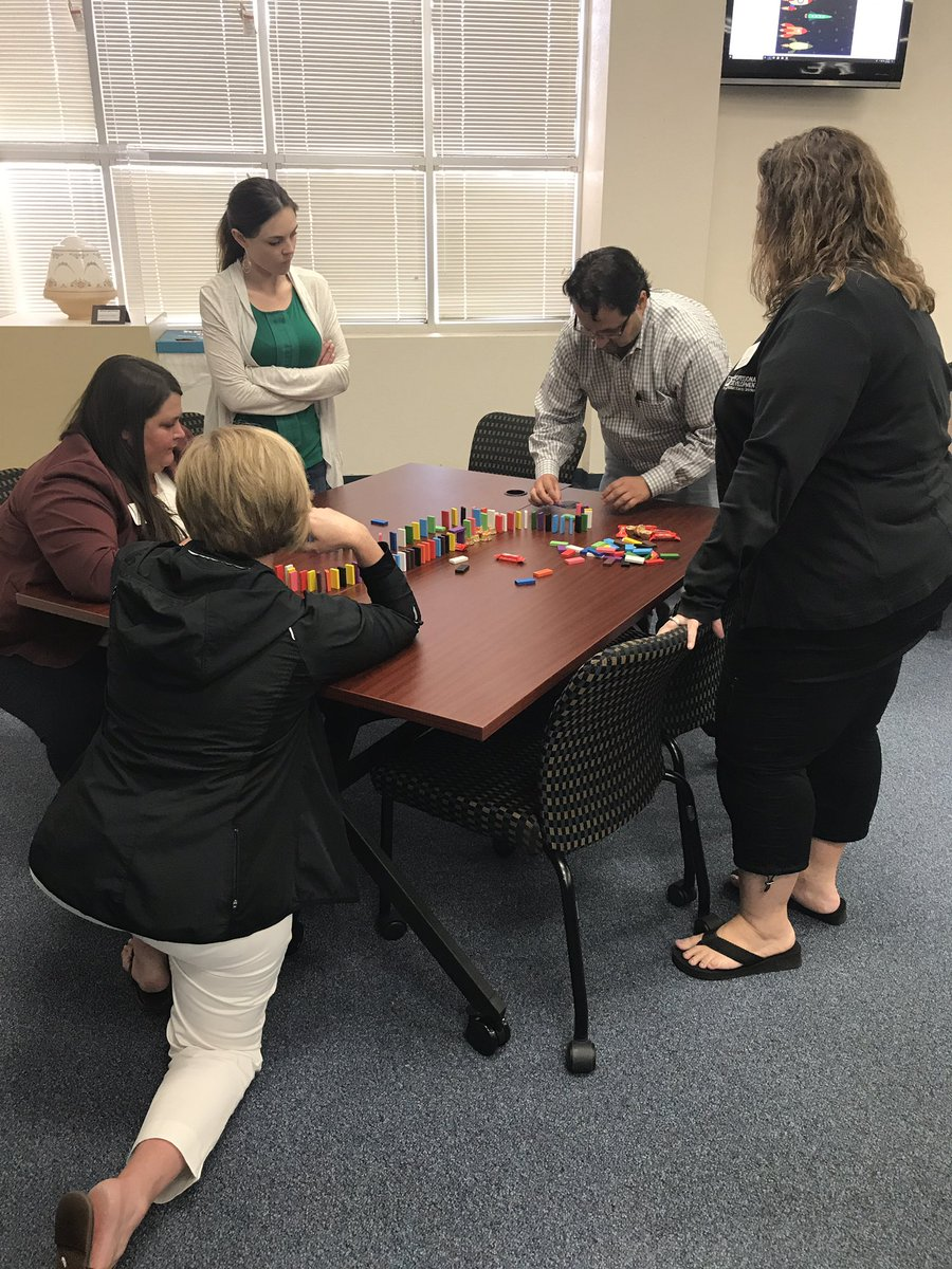 The Domino Effect in professional learning @LearnTexas @FWISDPLI PL actions impacts all!
