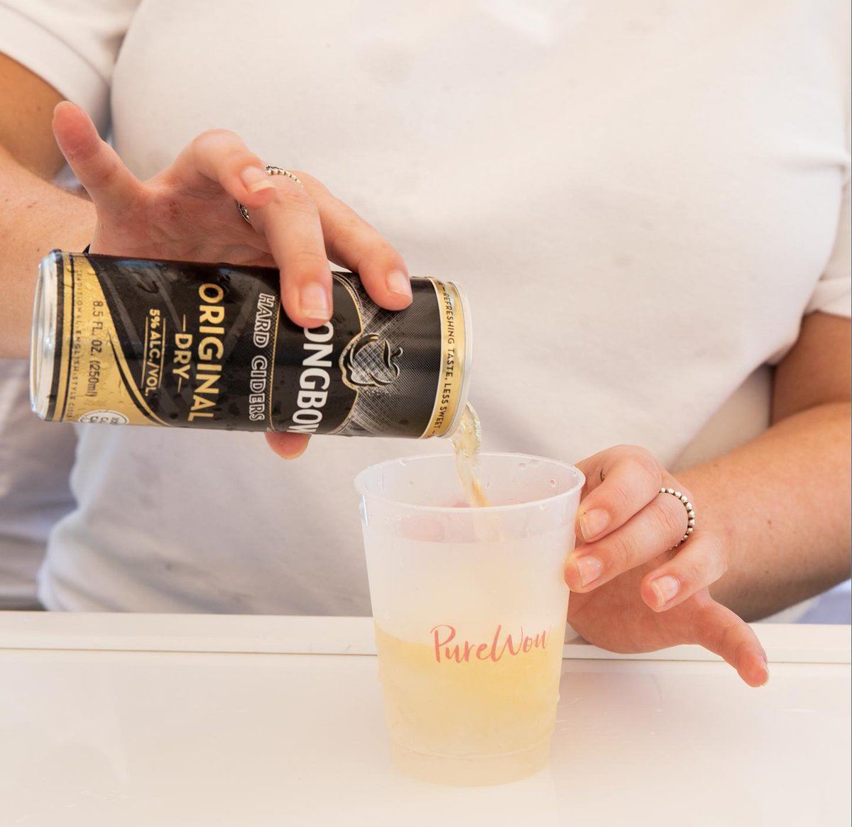 The perfect pour to match the perfect summer day with @PureWow☀️#FBF https://t.co/S5kmAWs3Gx
