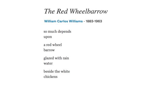 William Carlos Williams was born #OTD in 1883.  https:// poets.org/poet/william-c arlos-williams  … <br>http://pic.twitter.com/4f8P3nUk9e