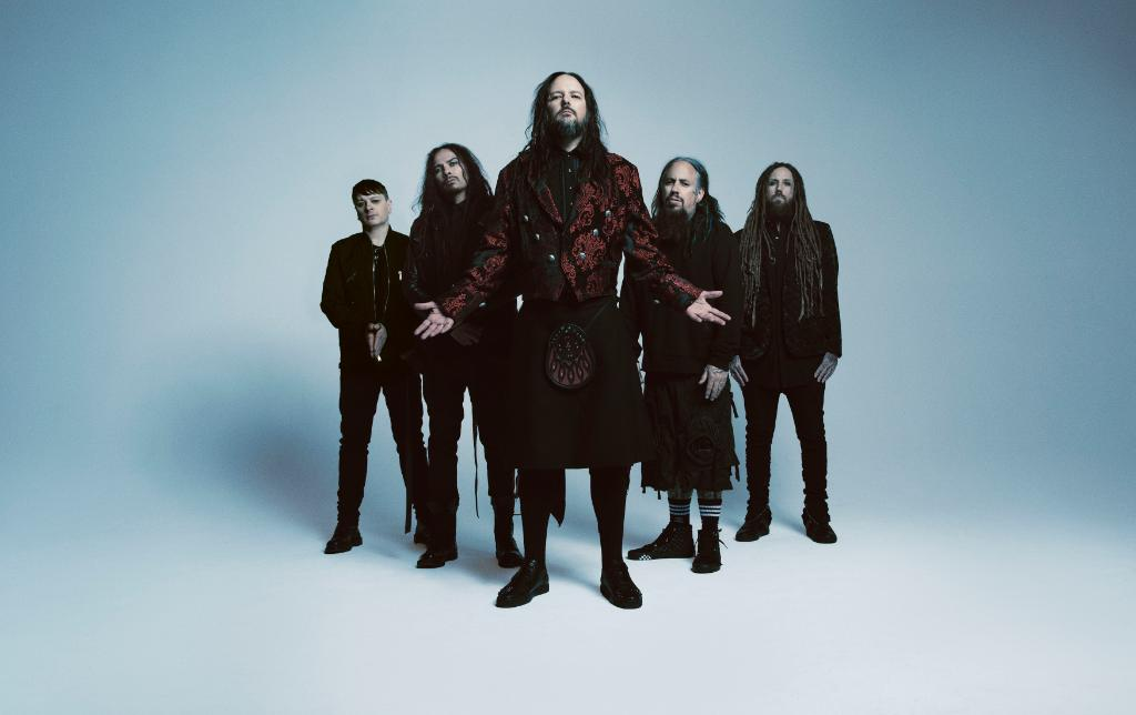 """.@Korn's 13th album is here. The iconic metal band offers tracks like the vicious """"Cold,"""" the contagious hard anthem """"You'll Never Find Me"""" and the emotive, techno-tinged single """"Can You Hear Me."""" Spin 'The Nothing' now: pdora.co/31jw5ap"""