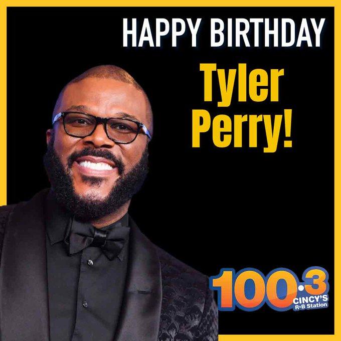 Happy Birthday to the amazing Tyler Perry