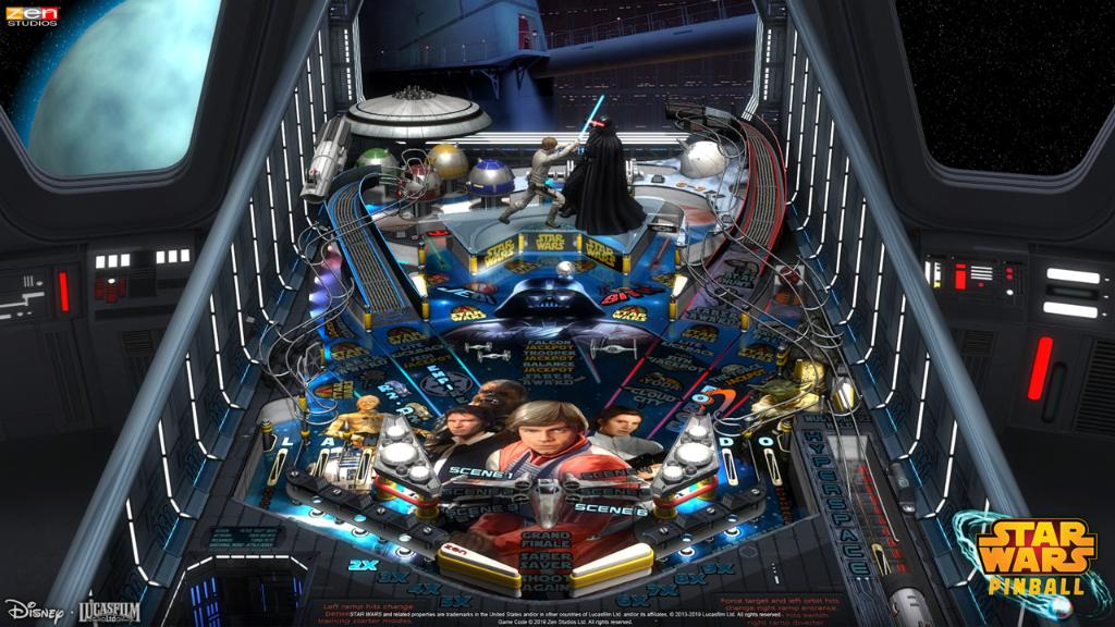 Love #StarWars and pinball? Here are 5 reasons why you should check out the new Star Wars Pinball game: strw.rs/6010Eh8rk