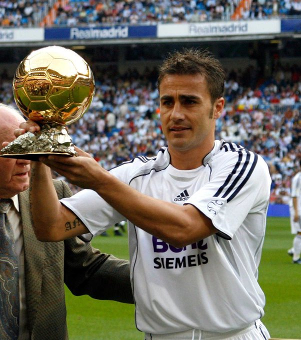 Happy Birthday to Fabio Cannavaro  The last defender to win the Ballon d\Or