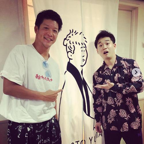 ドラマ🎥『#べしゃり暮らし』で #矢本悠馬 さんと共演している、#駿河太郎 さん😉🎤🎀矢本さん出演舞台を見に行ったそうですよ🏃🏻♂️💨🍀✨「久々の舞台とは思えへんくらい良かったぁ…😭」✨@yuma_yamoto @beshari_exブログはこちら⬇️