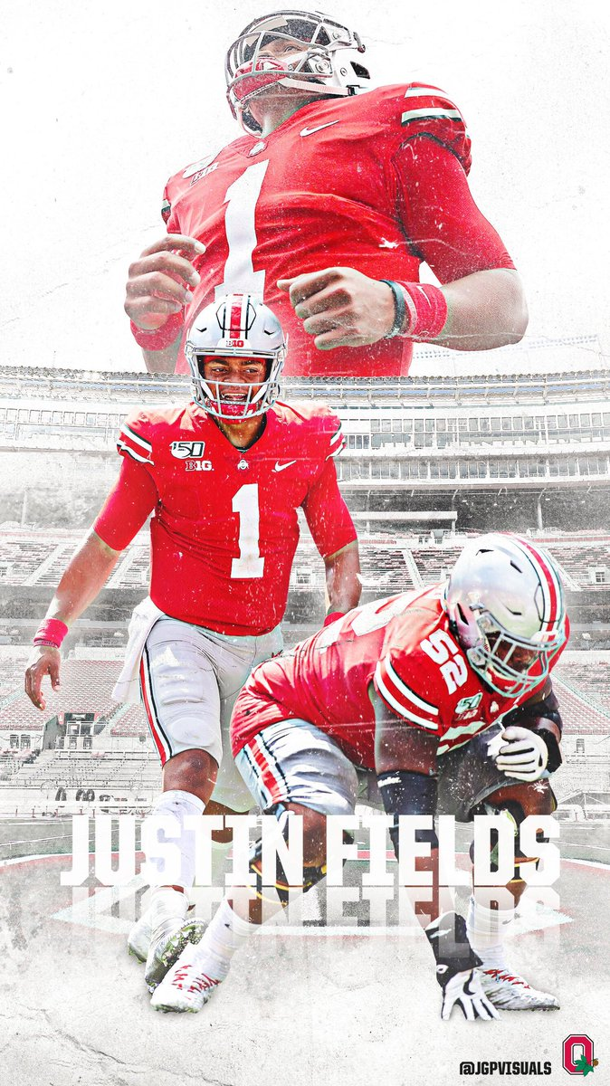 Jake Pierpont On Twitter Justin Fields Ohio State Iphone Wallpaper Justnfields Ohiostate