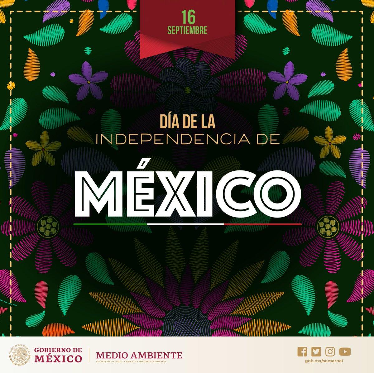¡Feliz día de la #Independencia de #México! Hoy y siempre nos sentimos orgullosos de pertenecer a uno de los países con mayor megadiversidad. 🐦🦋🐝🐺