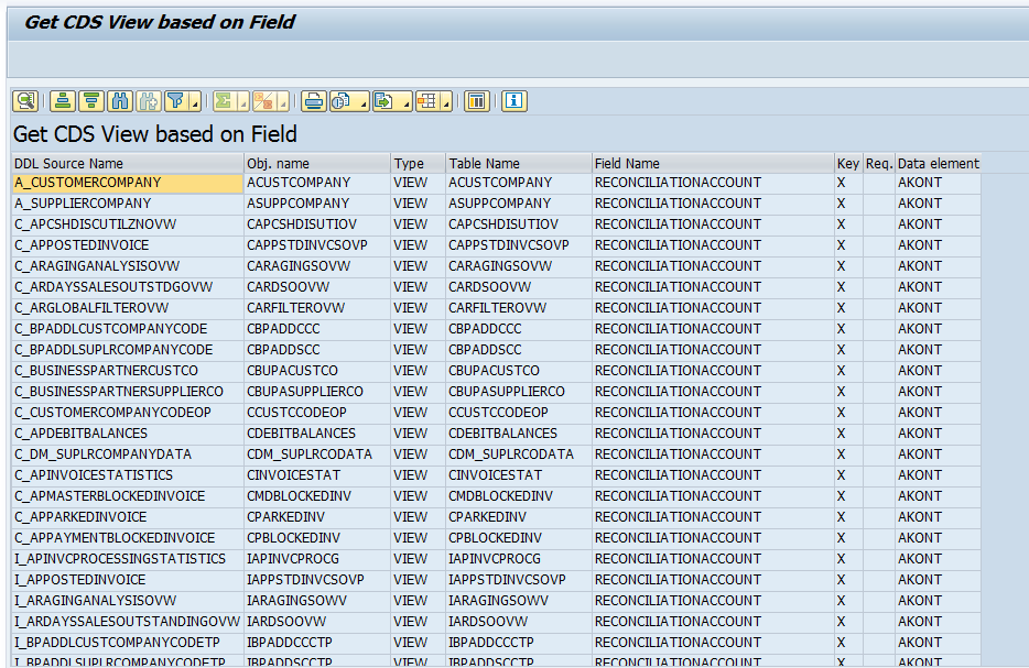 How to identify CDS views based on fields in SAP S/4HANA:  http:// sap.to/6011ECeDh    <br>http://pic.twitter.com/W09CBkLOIs