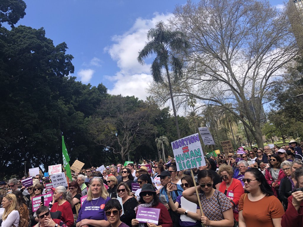 Great crowd for #prochoice <br>http://pic.twitter.com/nPBAC6EcAn