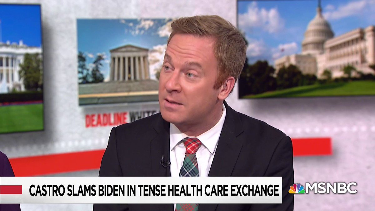 """Fair or not, this is a storyline for Joe Biden, he's had a number of blunders. Now he's always been gaffe-prone... Among other Democrats... there are people who are concerned about the former vice president's ability to do this."" - @JonLemire w/ @NicolleDWallace https://t.co/PvRxt57bNy"