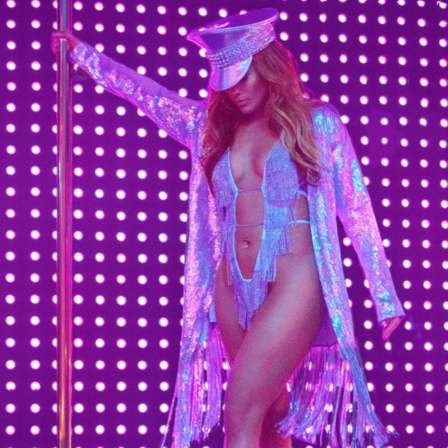 How Jennifer Lopez trained to pole dance in #HustlersMovie