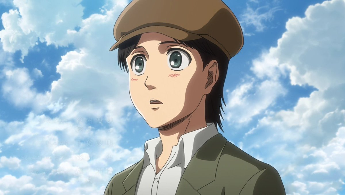 Best father in the series! He learned from the mistakes in the past and tried to be the best father he could be to Eren. He came from a WW1 Era country into a late medieval world and adapted fast, and used his skills as doctor to help the people inside the walls. #EldiasTrueHero<br>http://pic.twitter.com/LWAK07Tpek